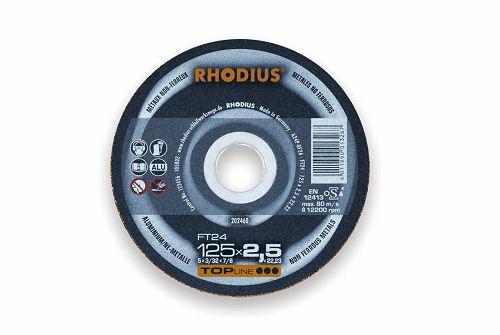 Rhodius Trennscheibe XTK10 gekröpft 115 x 1.5 x 22,23 mm