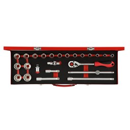 """Steckschlüsselsatz Gedore Red 1//2/"""" TX 32-tlg R68003032"""