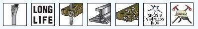 Saber Saw λεπίδες Hypercut Ειδικά σχεδιασμένο για εργασίες αποσυναρμολόγησης και διάσωσης, Made in Germany
